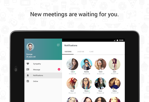 Hitwe - meet people and chat 4.3.4 Screenshots 11