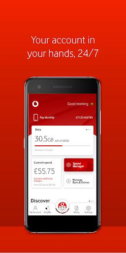 My Vodafone android2mod screenshots 2