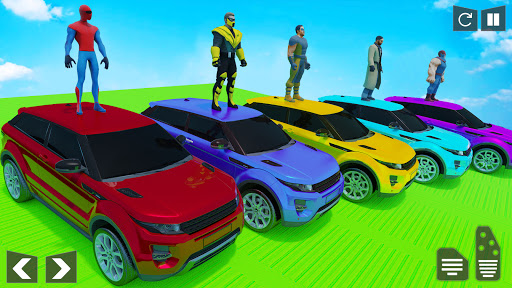 Mega Ramp Car Stunt Racing Games - Free Car Games screenshots 4