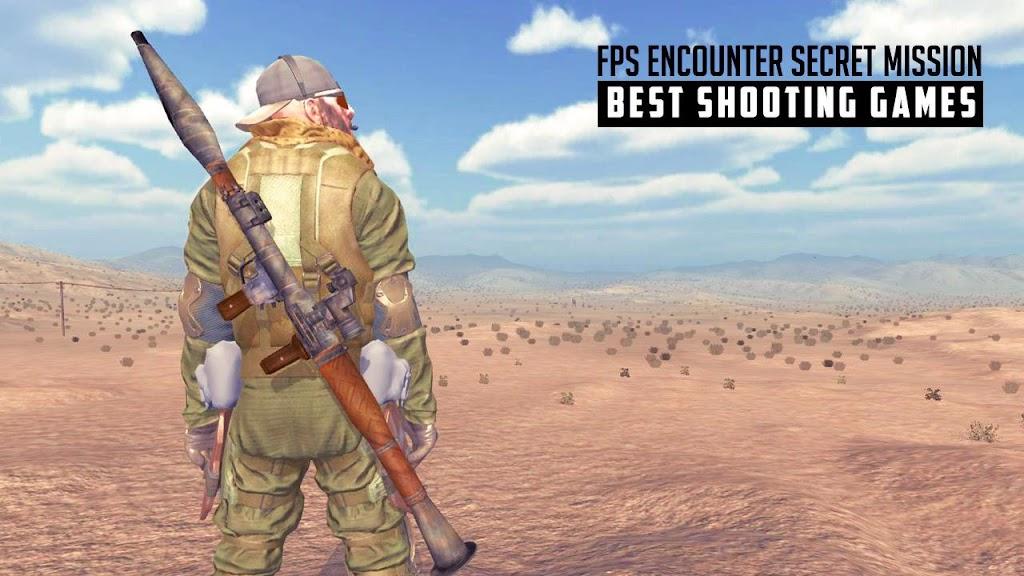 FPS Encounter Secret Mission: Best Shooting Games  poster 2