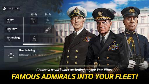 Warship Fleet Command : WW2 Naval War Game  screenshots 5