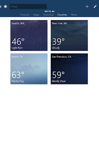 MSN Weather - Forecast & Maps 1.2.0 Screenshots 8