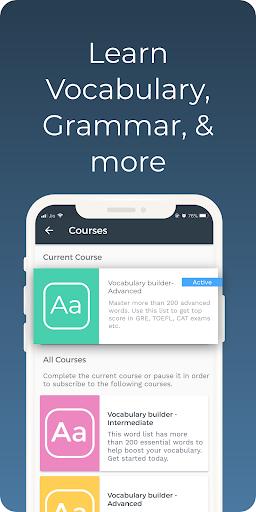 Improve English: Vocabulary, Grammar, Flashcards 2.29.0 Screenshots 8