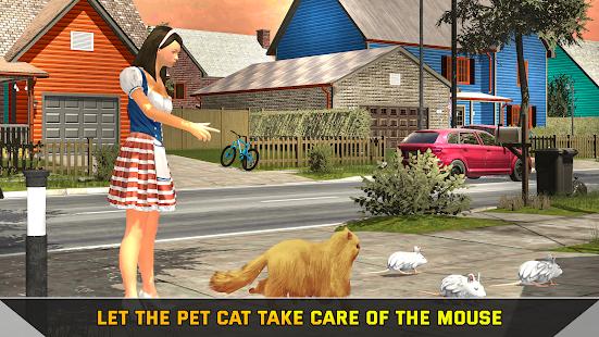 Virtual Cat Simulator 2021: Cat Adventure games 3 screenshots 1