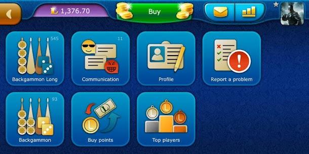 Backgammon LiveGames – live free online game 8