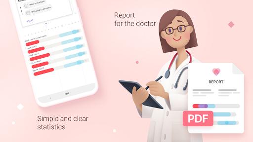 Period tracker for women. Ovulation calculator 2.12 Screenshots 3