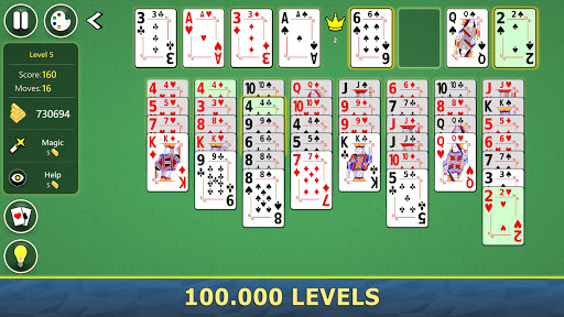 FreeCell Solitaire Mobile 2.0.7 screenshots 6