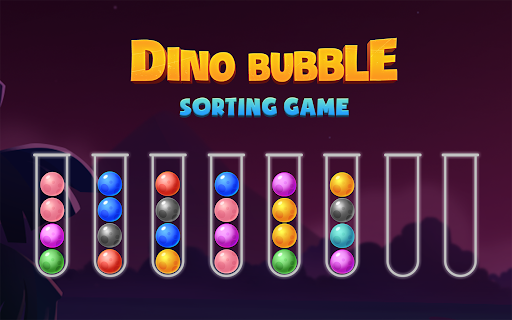 Color Ball Sort Puzzle - Dino Bubble Sorting Game  screenshots 15