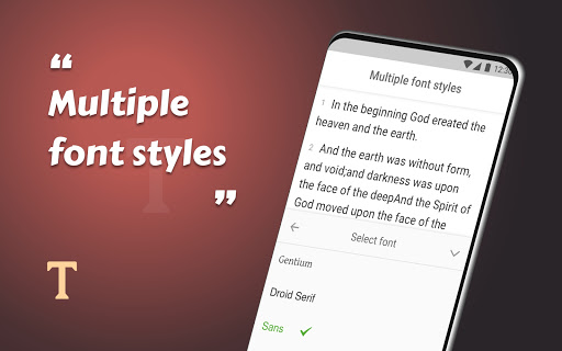 King James Bible (KJV) - Free Bible Verses + Audio android2mod screenshots 8