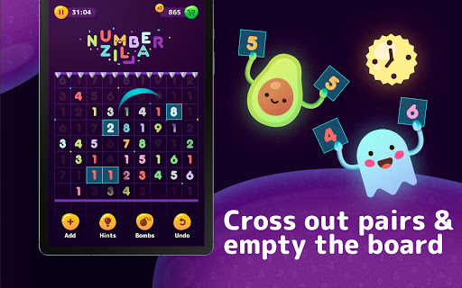 Numberzilla - Number Puzzle | Board Game 3.5.1.0 screenshots 13