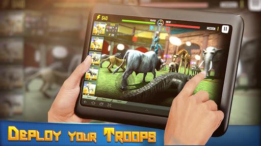 animal battle simulator : animal battle games screenshot 2