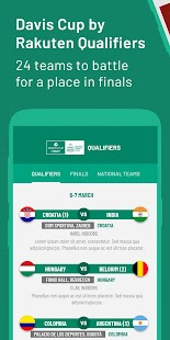 Davis Cup by Rakuten Finals Screenshot