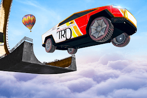 Cyber Monster Truck Racing Stunt: Impossible Track