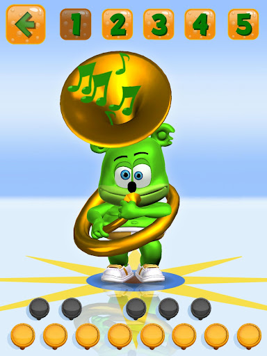 Talking Gummy Free Bear Games for kids 3.5.0 screenshots 8