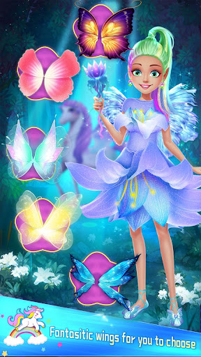 ud83dudc78Rainbow Princess & Unicorn Makeup - Fashion Trip 1.8.5038 screenshots 14
