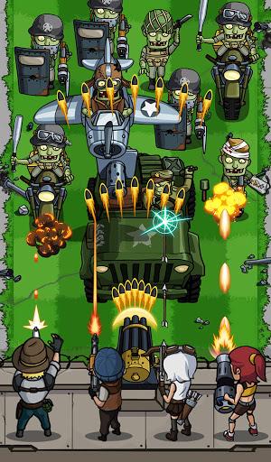 Zombie War: Idle Defense Game 56 screenshots 1