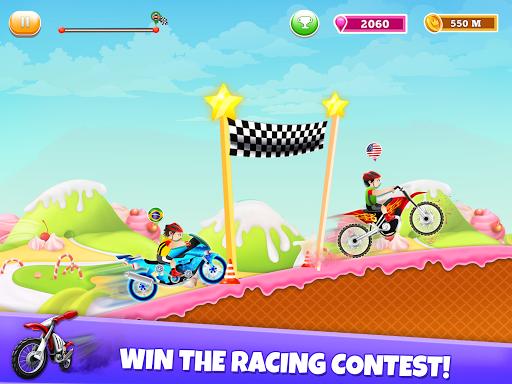 Kids Bike Hill Racing: Free Motorcycle Games 0.9 screenshots 9