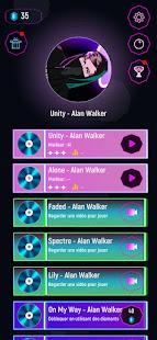 Alan walker dj Tiles Hop Ball - Neon EDM Rush 1.0 screenshots 1