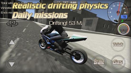Wheelie King 3D - Realistic free  motorbike racing 1.0 Screenshots 5