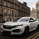 City Car Honda Civic Parking & Driving