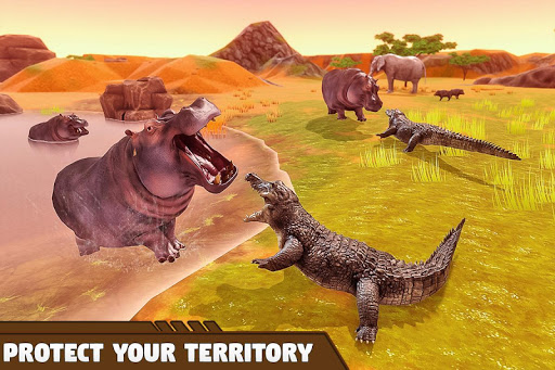 Crocodile Family Simulator Games 2021 1.0 screenshots 9