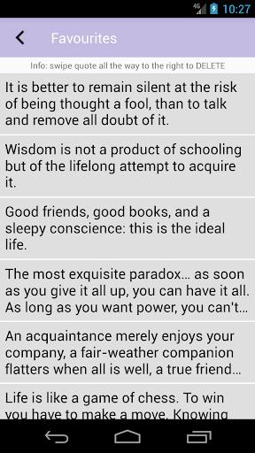 Wise Words screenshots 3