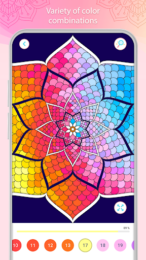 Color by Number u2013 Mandala Book 2.2.1 screenshots 6