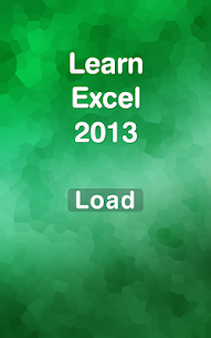 Learn Excel 2013 1