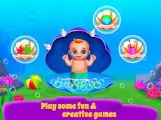 マーメイドママ&新生児 - ベビーシッターゲームのおすすめ画像2