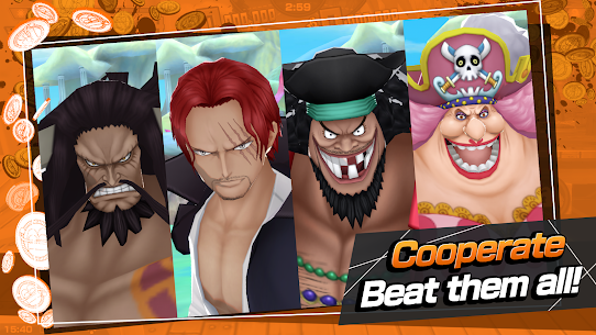 ONE PIECE Bounty Rush Ver. 40200 MOD Menu APK | Dumb AIs | No Skill Cooldown 5