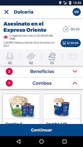 Cineplanet Peru00fa screenshots 3