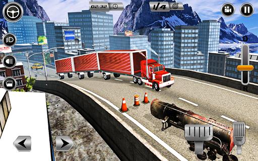 Euro Long Trailer Truck Sim 2021: Cargo Transport 2.4 screenshots 12