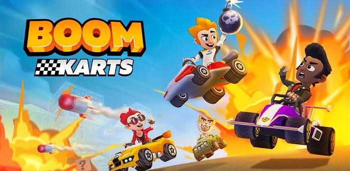 Boom Karts - Mehrspieler-Arcade Rennen In Echtzeit