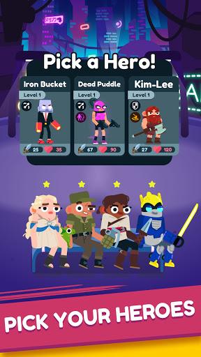 Heroes Battle: Auto-battler RPG modiapk screenshots 1