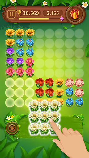Block Puzzle Blossom 63 screenshots 21
