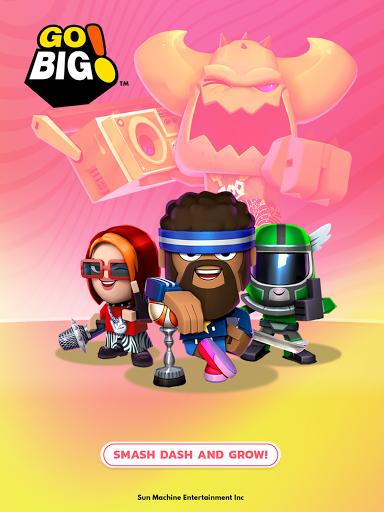Go Big! - Smash Dash & Grow Battle Royale Game screenshots 9