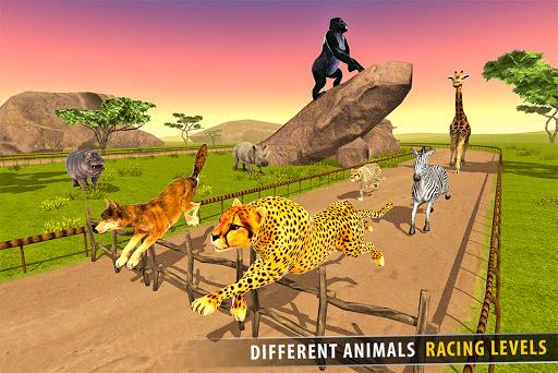 Savanna Animal Racing 3D: Wild Animal Games 1.0 screenshots 12