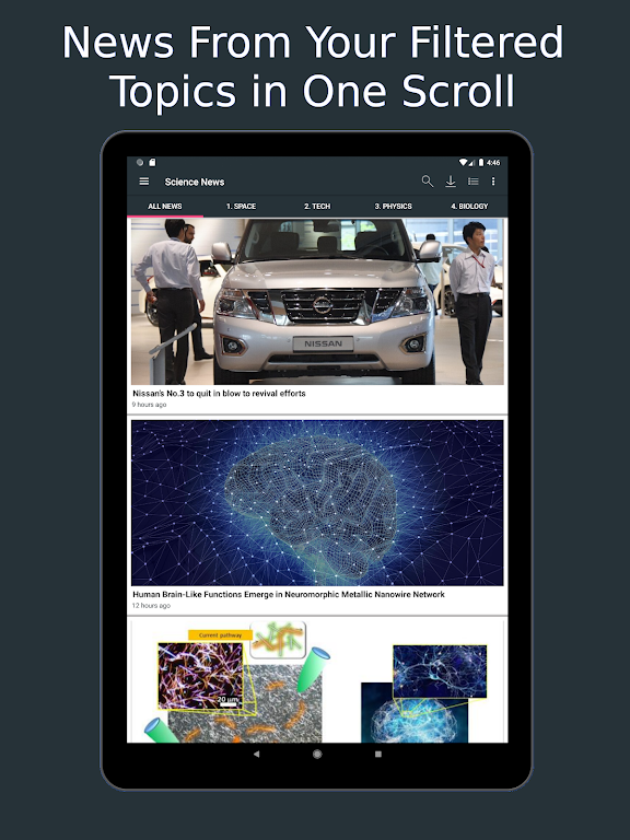 Science News Daily: Science Articles and News App  poster 7