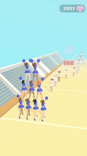 Download Cheerleader Run 3D mod apk 2