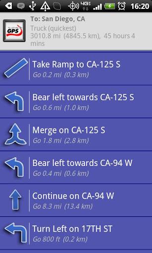 smarttruckroute truck gps navigation live routes screenshot 2