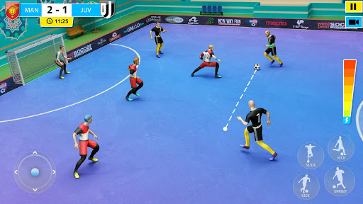 Indoor Soccer Games: Play Football Superstar Match 81 screenshots 1