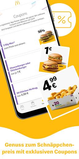 McDonaldu2019s Deutschland - Coupons & Aktionen screenshots 1