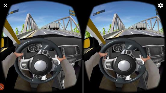 VR Traffic Car Racer 360
