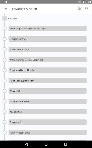 AHFS Drug Information (2021) 3.5.14 Screenshots 20