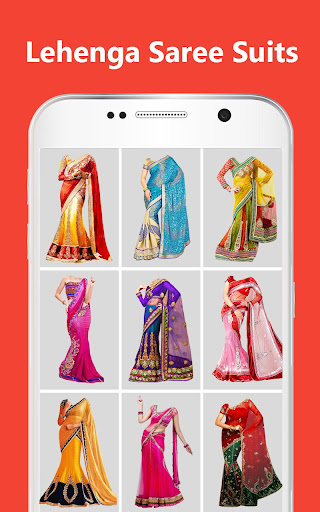 Women Lehenga Saree Photo Suit Editor screenshots 2