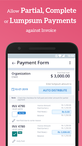 Simple Invoice Manager - Invoice Estimate Receipt apktram screenshots 5