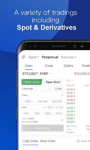 OKEx - Bitcoin/Crypto Trading Platform android2mod screenshots 5