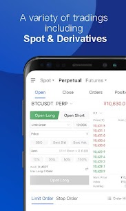OKEx – Bitcoin/Crypto Trading Platform For Android 5
