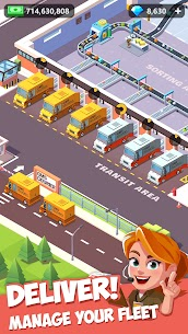 Idle Kurye Tycoon – 3D Business Manager  Güncel Full Apk İndir 2
