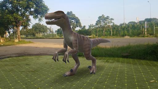 Dinosaur 3D AR - Augmented Reality android2mod screenshots 2